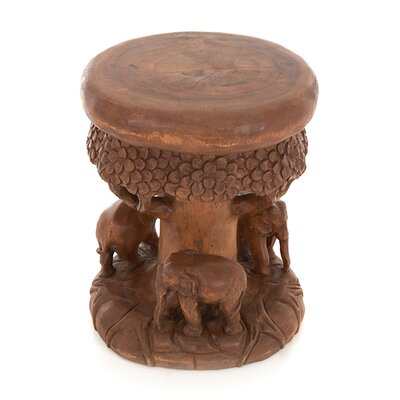 Wrigglebox Forest Stool with Three Elephants