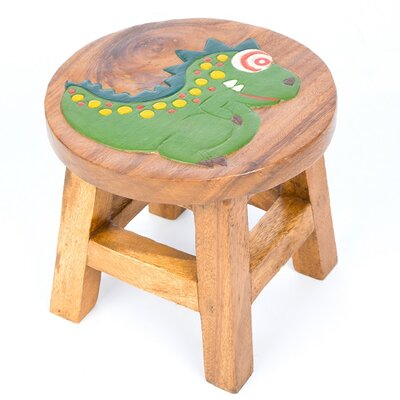 Wrigglebox Dinosaur Children's Stool