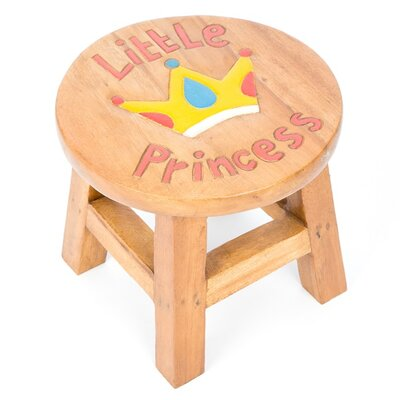 Wrigglebox Little Princess Children's Stool