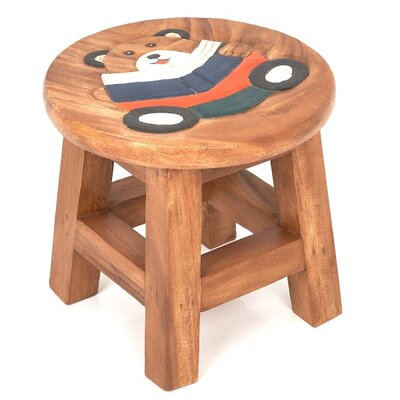 Wrigglebox Teddy Reading Children's Stool
