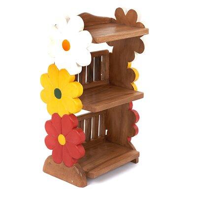 Wrigglebox Flower Childs 78cm Bookshelf