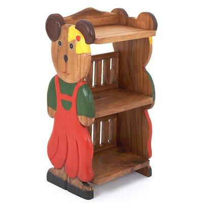 Wrigglebox Girl Teddy Childs 78cm Bookshelf