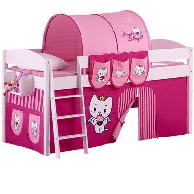 Wrigglebox Angel Cat Sugar European Single Mid Sleeper Bed