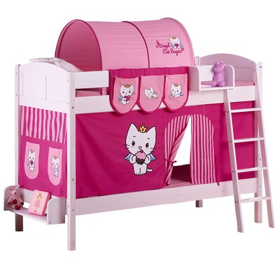 Wrigglebox Ida Angel Cat Sugar European Single Bunk Bed