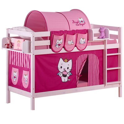 Wrigglebox Jelle Angel Cat Sugar Bunk Bed
