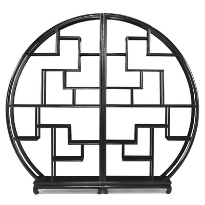 Ethnic Elements Jinhua Circular 184cm Accent Shelves