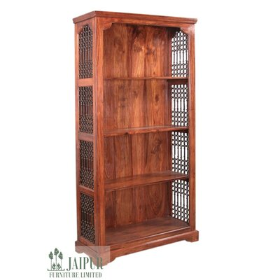 Ethnic Elements Jali Chennai Wide 40cm Standard Bookcase