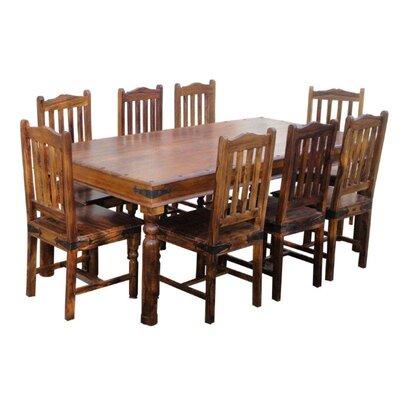 Ethnic Elements Kerala Dining Table