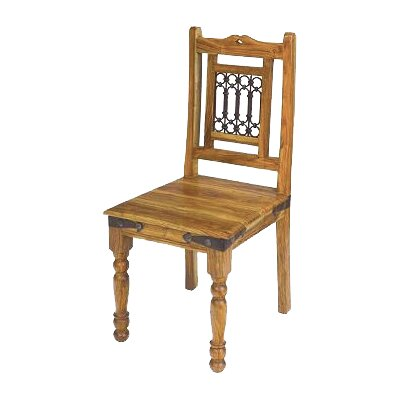 Ethnic Elements Jali Solid Sheesham Dining Chair