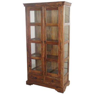 Ethnic Elements Solid Sheesham Display Cabinet