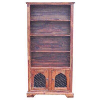Ethnic Elements Ganga Sheesham Kerala Tall Wide Gothik 190cm Standard Bookcase
