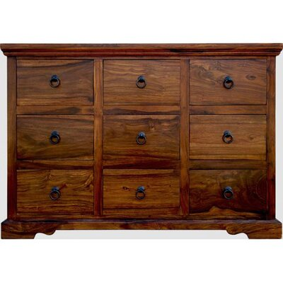 Ethnic Elements 9 Drawer Chest of Drawers