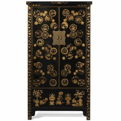 Ethnic Elements Layla Gold Decorated Wedding Cabinet