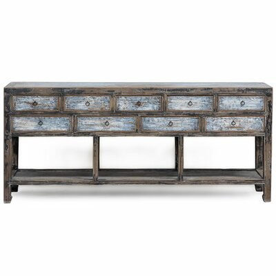 Ethnic Elements Bangkok 9 Drawer Sideboard