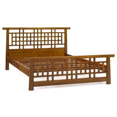 Ethnic Elements Jinrong Lattice Kingsize Bed Frame