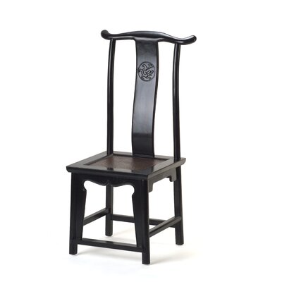 Ethnic Elements Hangzhou Solid Elm Dining Chair