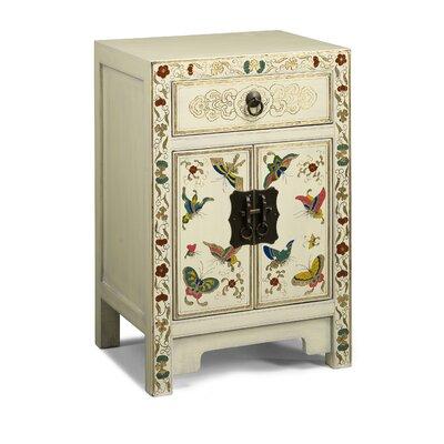Ethnic Elements Hangzhou 1 Drawer Bedside Table