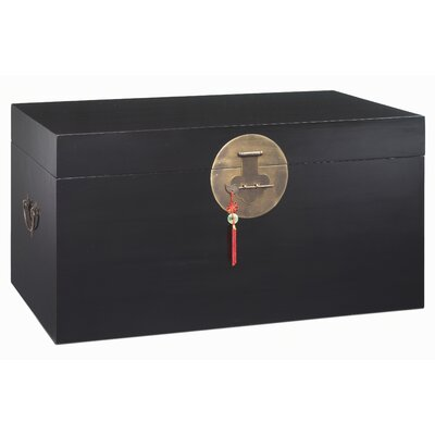 Ethnic Elements Hangzhou Large Wooden Blanket Box