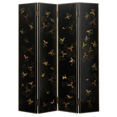 Ethnic Elements 200cm x 160cm Hangzhou Shanxi Butterfly 4 Panel Room Divider