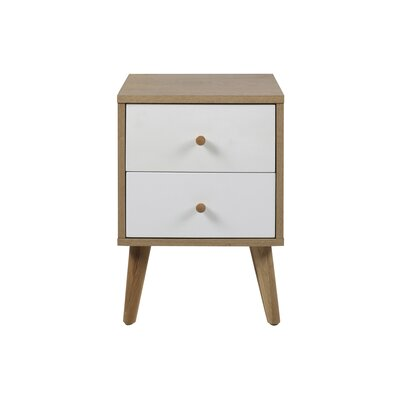 Fjørde & Co Curacao 2 Drawer Bedside Table