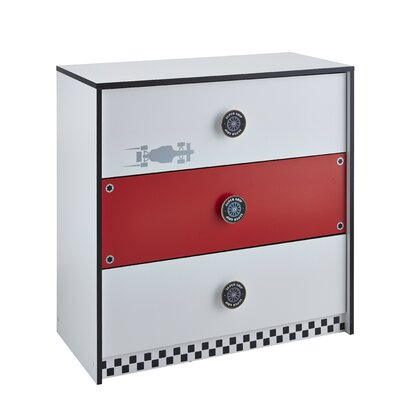 Demeyere Rocket Chest of Drawers with 3 Drawers