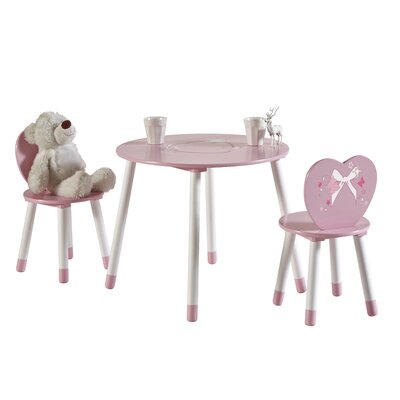 Demeyere Butterfly Children's 3-Piece Table- and Chair Set
