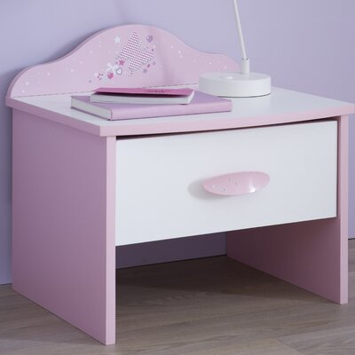 Demeyere Papillon Bedside Table with Drawer