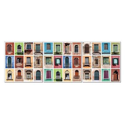 Fjørde & Co Window 3-Piece Wall Art Set