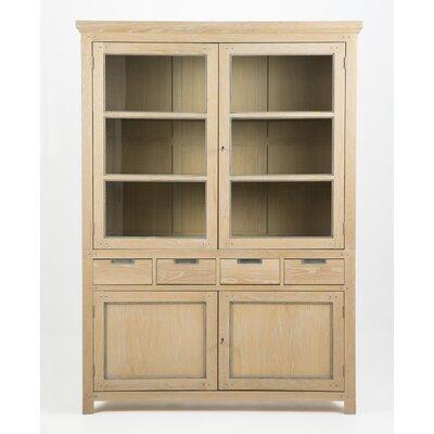 Homestead Living Solid Oak Display Cabinet