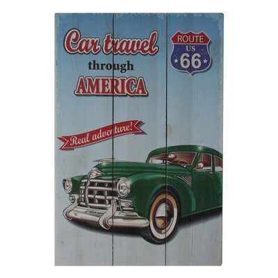 Fjørde & Co Car Travel Throughout America Wall Art