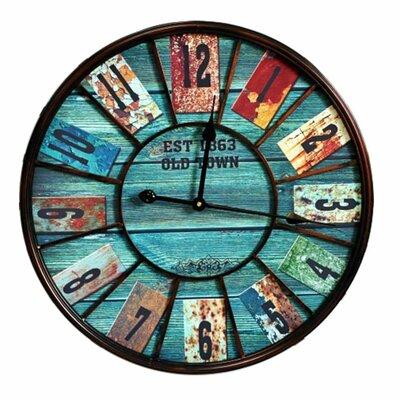 Fjørde & Co Vintage 58cm Wall Clock