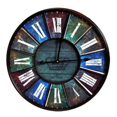 Fjørde & Co Blue Queen 58cm Wall Clock
