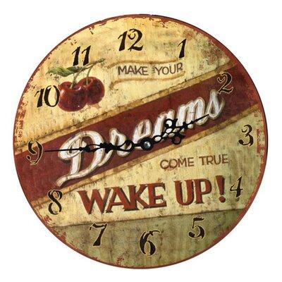 Fjørde & Co Wake Up 34cm Wall Clock