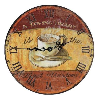 Fjørde & Co Loving Heart 34cm Wall Clock