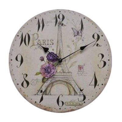 Fjørde & Co Beautiful Paris 34cm Wall Clock