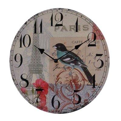 Fjørde & Co Bird 34cm Wall Clock
