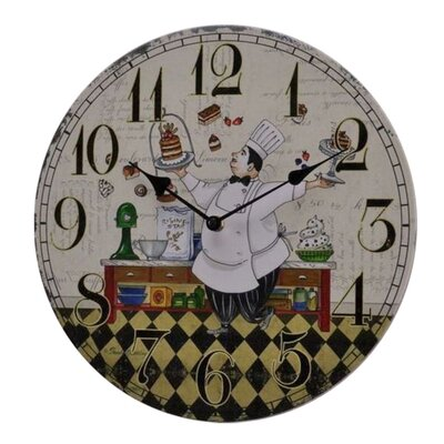 Fjørde & Co Cake 34cm Wall Clock