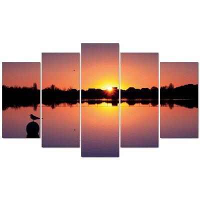 Fjørde & Co Best Sunset 5-Piece Wall Art Set