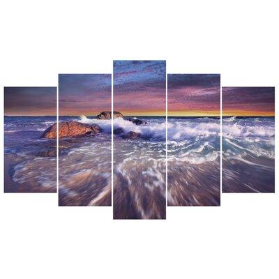 Fjørde & Co Waves 5-Piece Wall Art