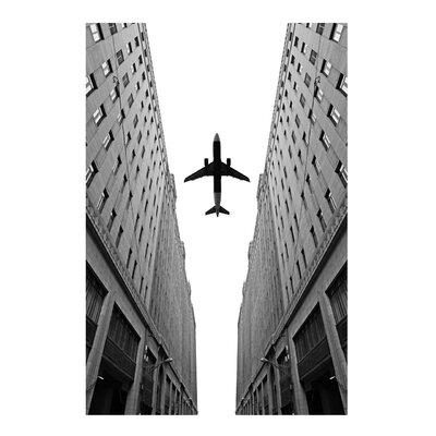 Fjørde & Co Airplane City Wall Art