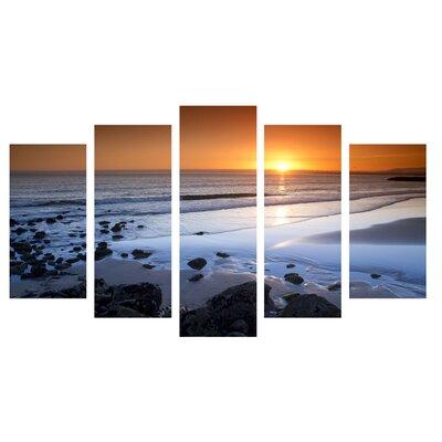 Fjørde & Co Sun on Ice 5-Piece Wall Art Set