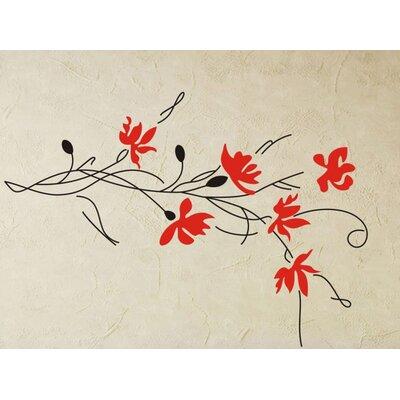 Fjørde & Co Rot Flowers Wall Sticker