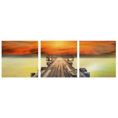 Fjørde & Co Mare E Il Molo 3-Piece Wall Art Set