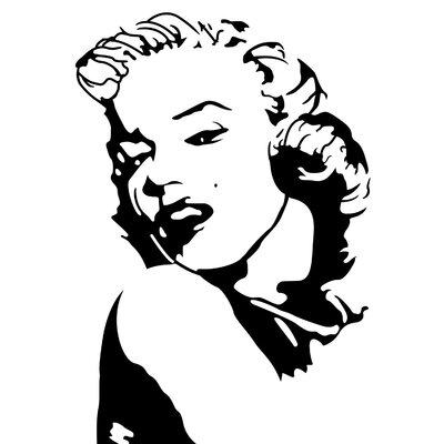Fjørde & Co Marilyn Wall Sticker