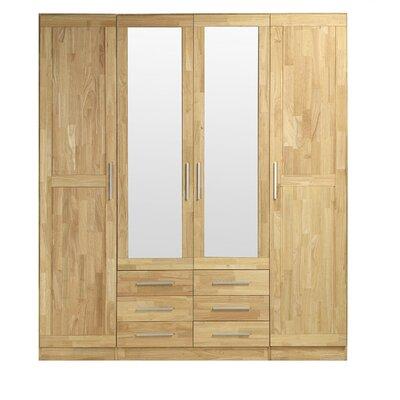 Fjørde & Co Loretta 4 Door Wardrobe