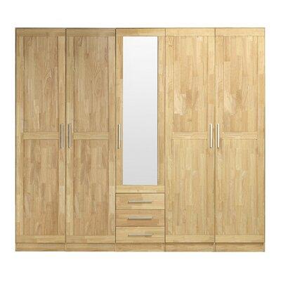 Fjørde & Co Loretta 5 Door Wardrobe