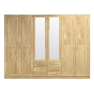 Fjørde & Co Loretta 6 Door Wardrobe