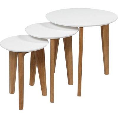Fjørde & Co Abbey 3 Piece Nest of Tables