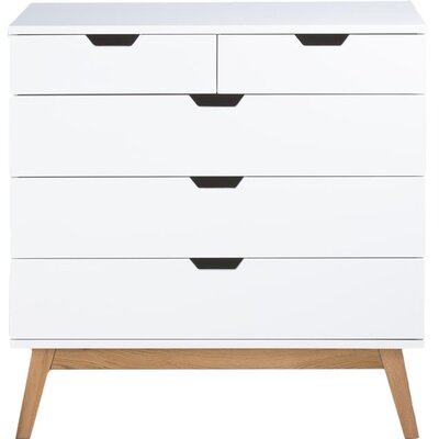 Fjørde & Co Johnson 5 Drawer Chest of Drawers