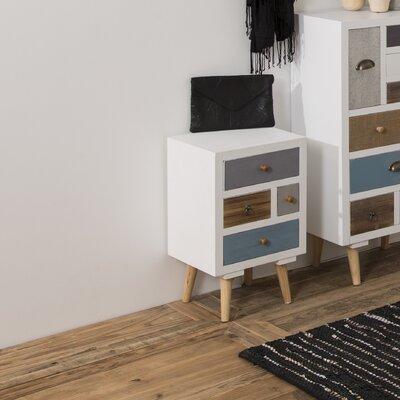 Fjørde & Co Kourtney 4 Drawer Nightstand